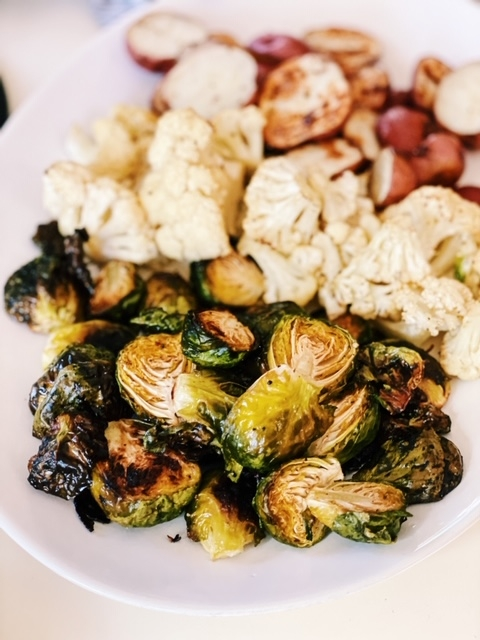 perfect over roasted veggies for fondue