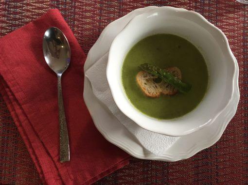 spicy asparagus soup