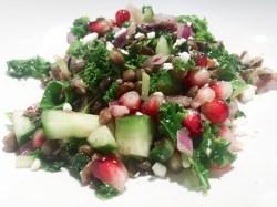 vegetarian lentil salad