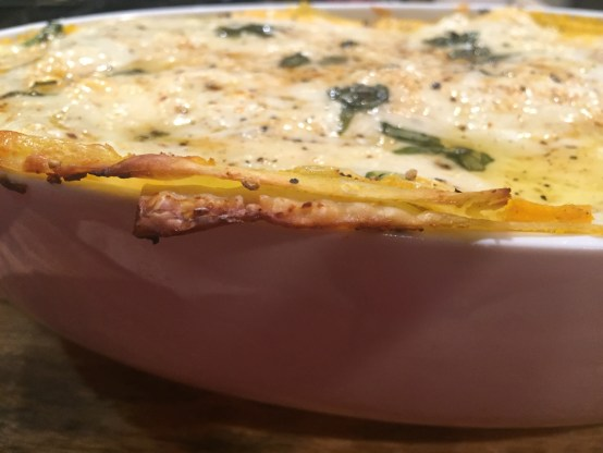 Butternut Squash and Spinach Lasagna 3