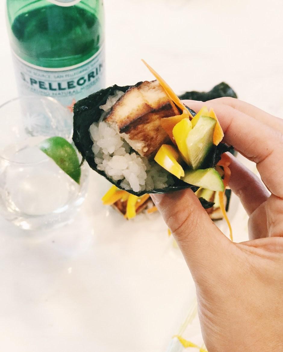 veggie hand roll