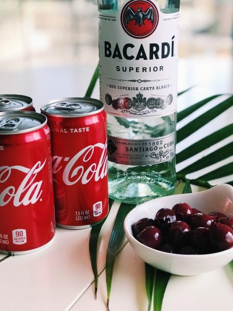 rum and coke the classic bacardi rum