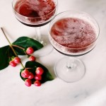 pomegranate cocktail drink