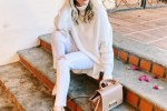 winter white style outfit