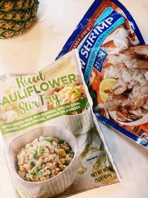 how to make cauliflower fried rice