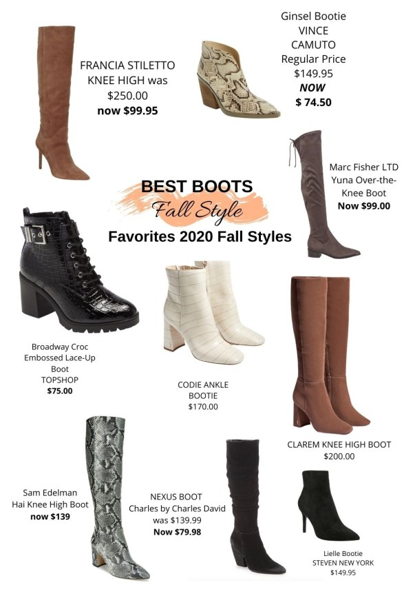 best fall boot style 2020