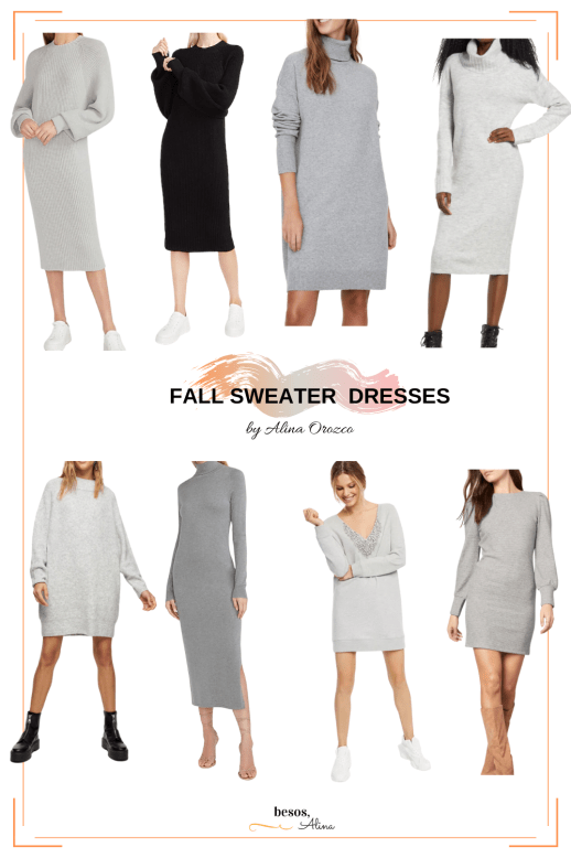 best fall sweater dresses