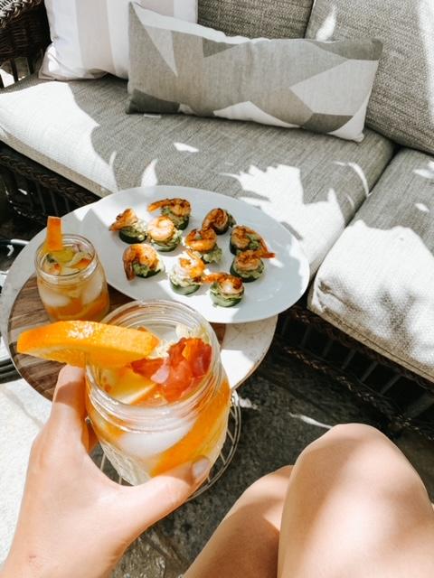 easy summer shrimp appetixer