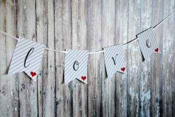 Design Happens Free Printable Love Banner 47