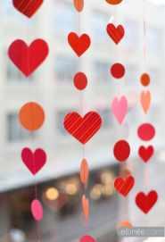 Elli Nee Free Printable Heart Garland