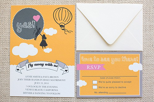 Wedding Chicks Free Printable Wedding Invitation 6