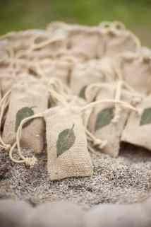 Burlap Bags of Lavender