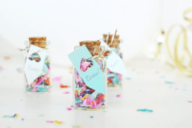 Mini Confetti Jar