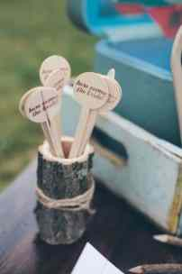 Wooden engraved Favours