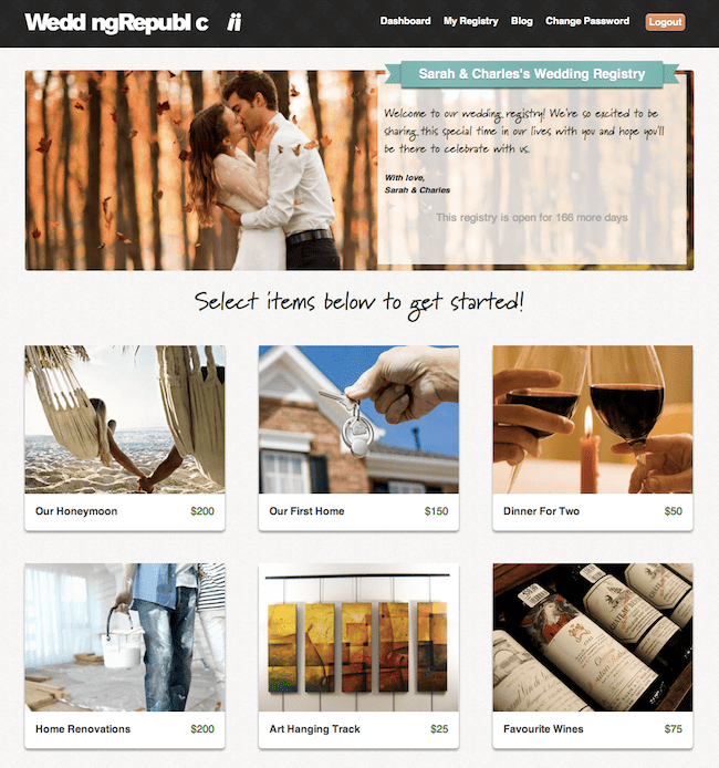 sample-wedding-registry