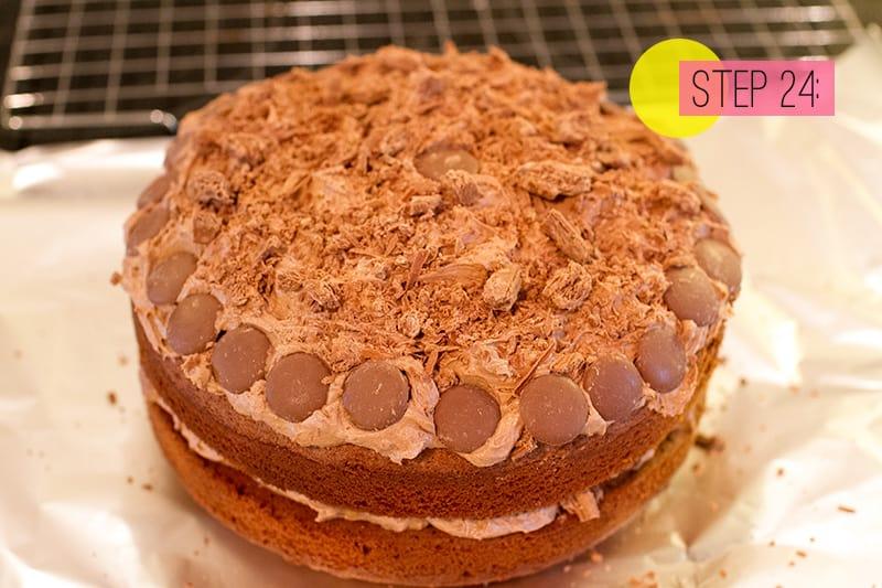 Food DIY How To Make A Chocolate Birthday Cake BespokeBride