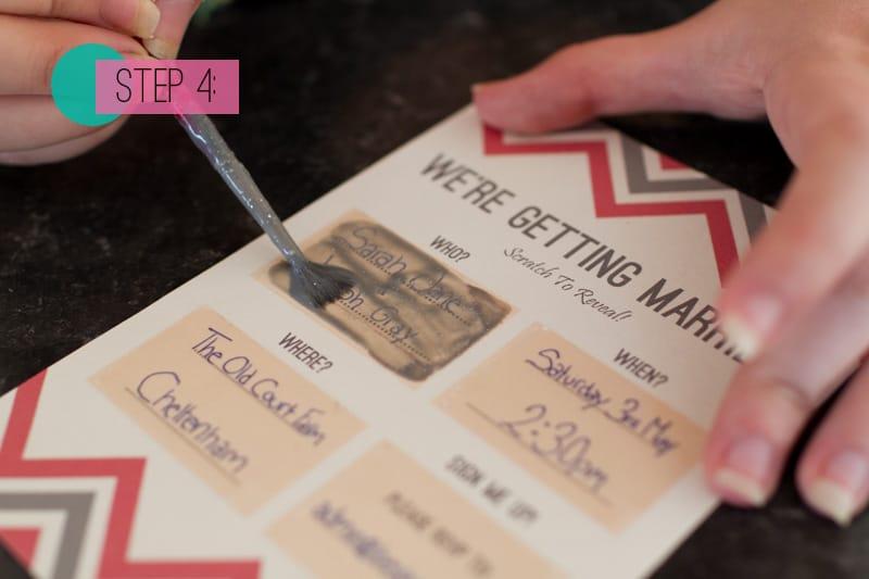 Scratch Card Wedding Invite Diy 4