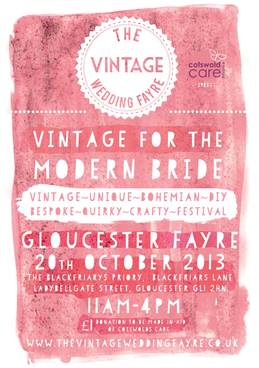 The Vintage Wedding Fayre, Gloucester