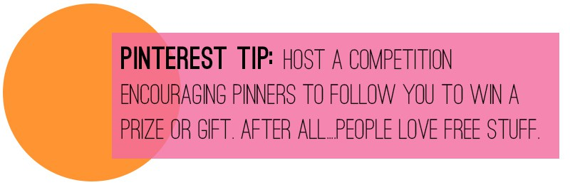 Pinterest Tip Competition