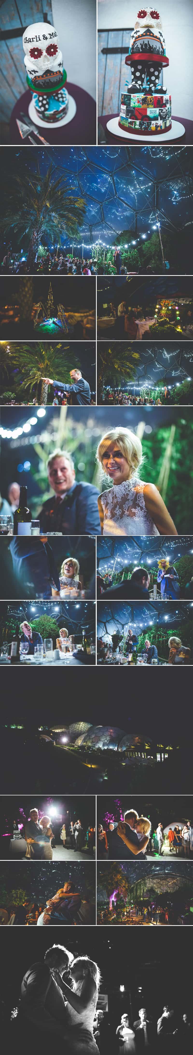 Glastonbury Eden Project Wedding Zip Lining Festival Themed 6