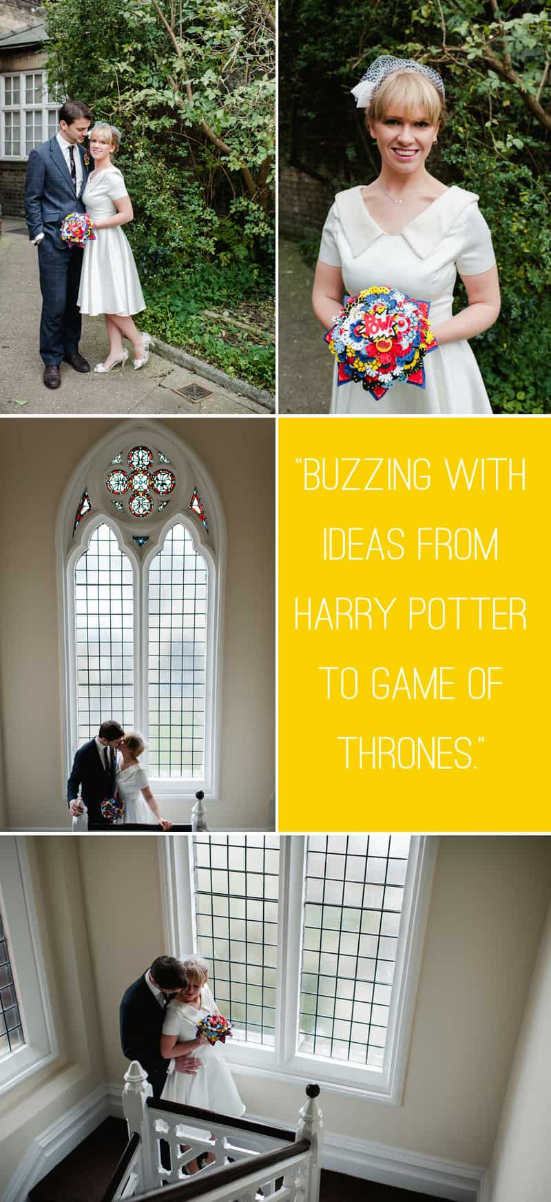 Geek Chic Styled Shoot in a Library