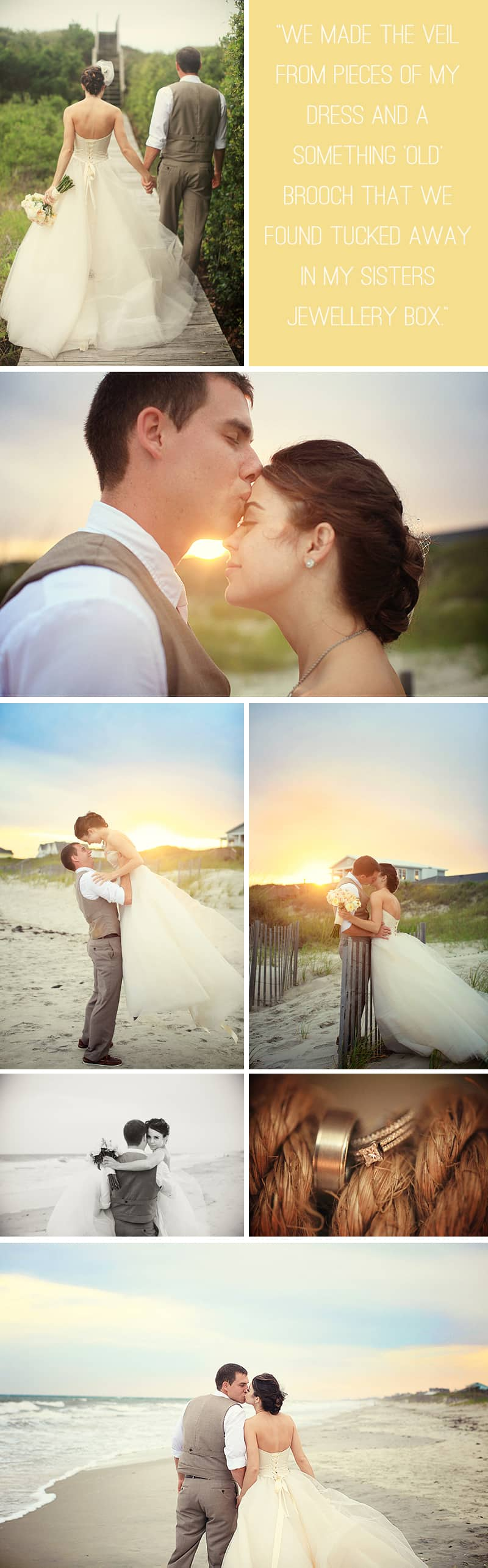 An Intimate Beach Wedding 3