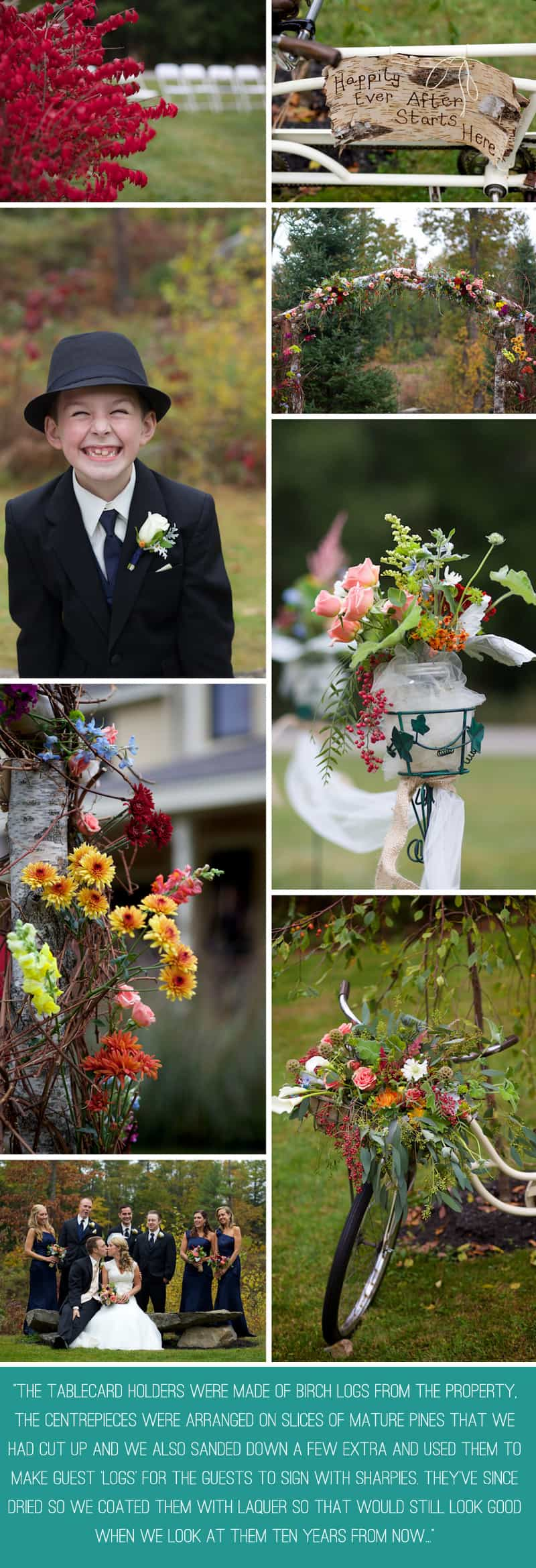 A Floral Filled Wedding