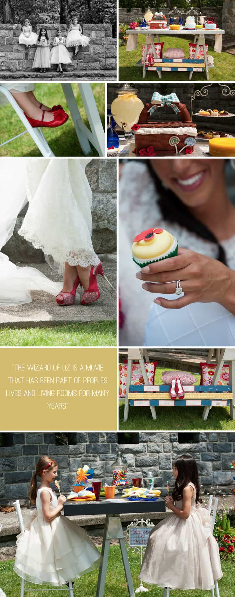 Wizard of Oz Styled Shoot Cupcakes
