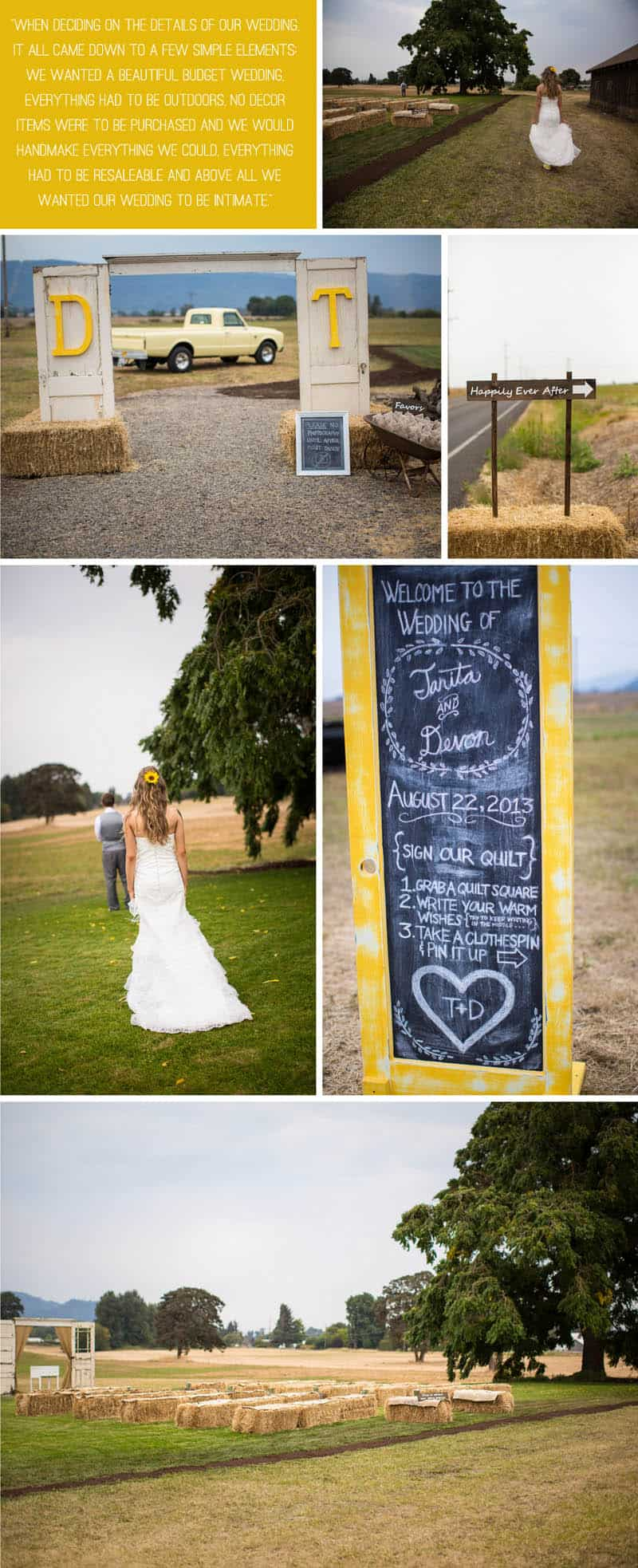 A Rustic Country Wedding for Just £1500 1