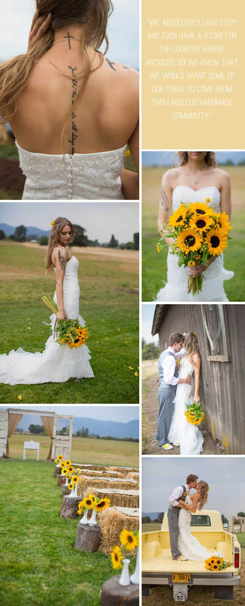 A Rustic Country Wedding for Just £1500 3