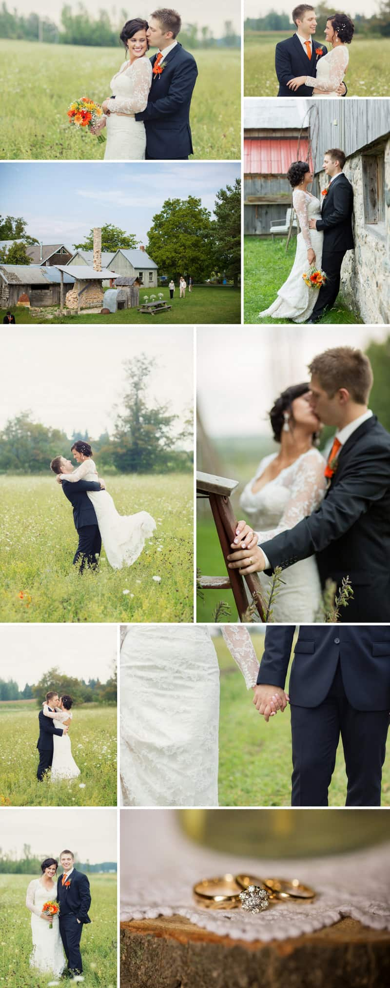 A Romantic Fall Wedding in a Rustic Barn 7