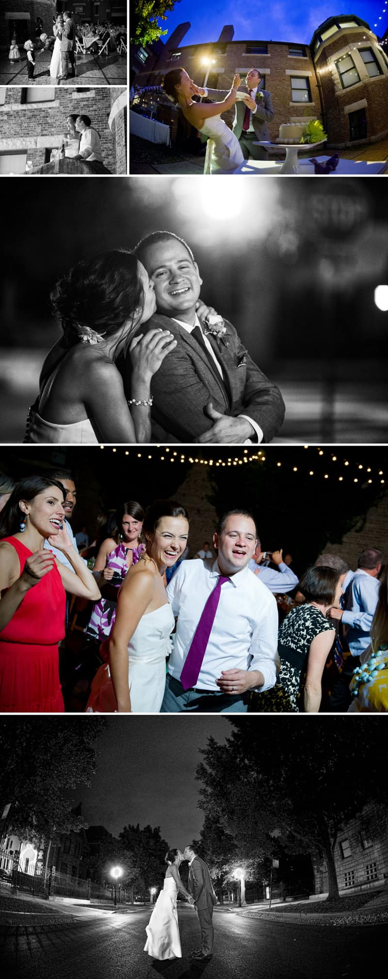 A Modern Wedding Dressed in Vintage Clothes 6