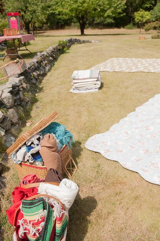 DIY garden rustic wedding-13