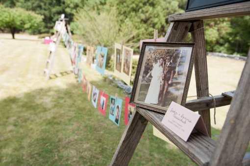 DIY garden rustic wedding-6