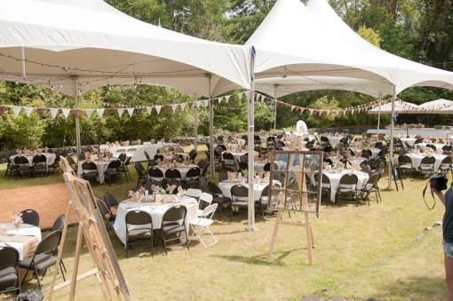 DIY garden rustic wedding-9