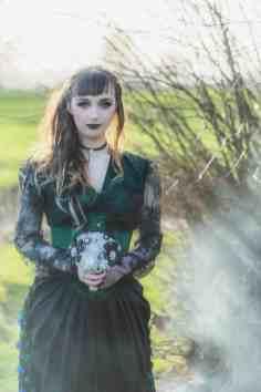 Gothic Styled Shoot-12