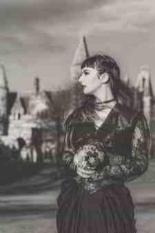 Gothic Styled Shoot-18