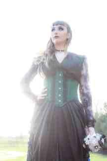 Gothic Styled Shoot-3