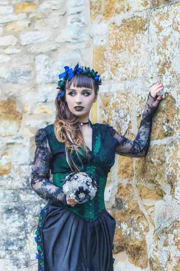 Gothic Styled Shoot-33