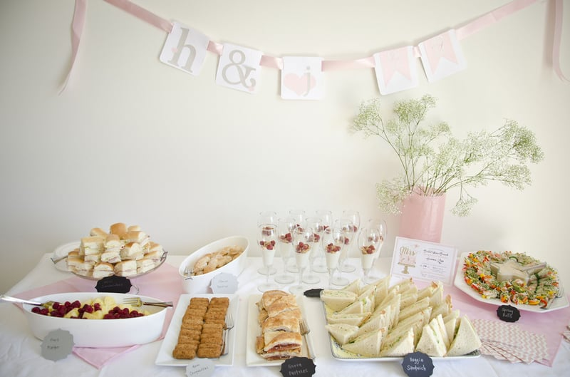 A Pink & Gold DIY Bridal Shower
