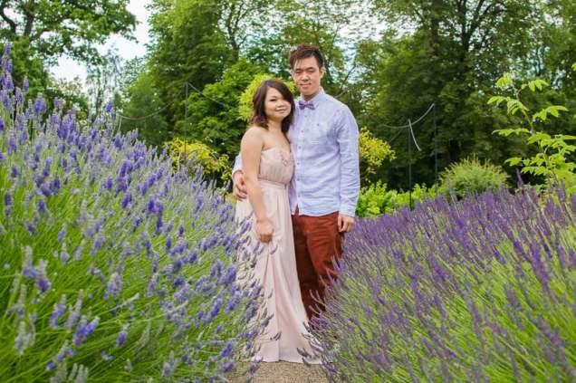 Cute Quirky Engagement Shoot Valentines Park-10
