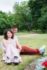 Cute Quirky Engagement Shoot Valentines Park-18