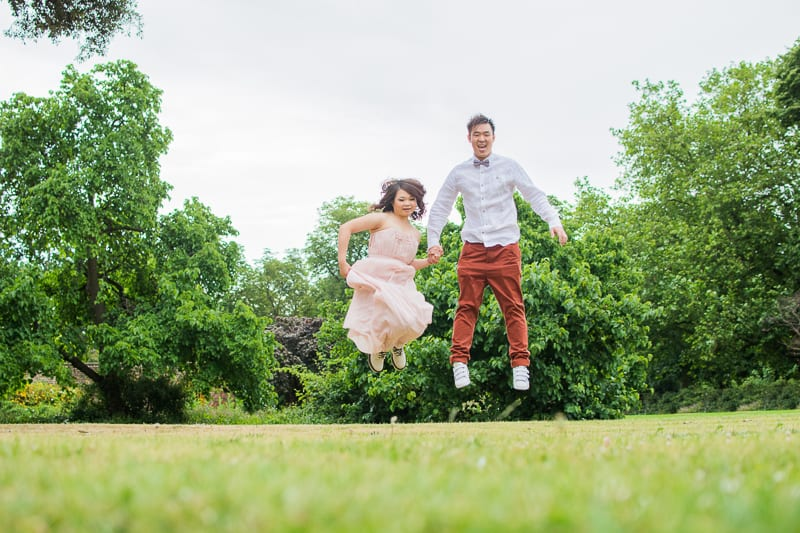 Cute Quirky Engagement Shoot Valentines Park-22