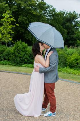 Cute Quirky Engagement Shoot Valentines Park-45