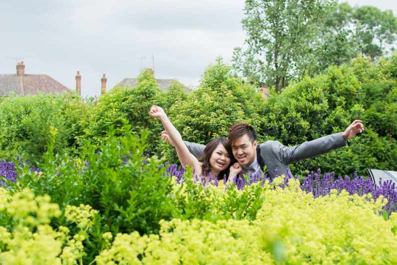 Cute Quirky Engagement Shoot Valentines Park-49