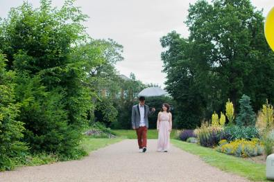 Cute Quirky Engagement Shoot Valentines Park-50