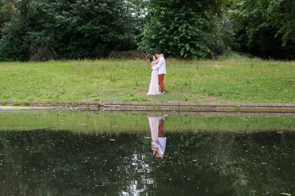 Cute Quirky Engagement Shoot Valentines Park-54