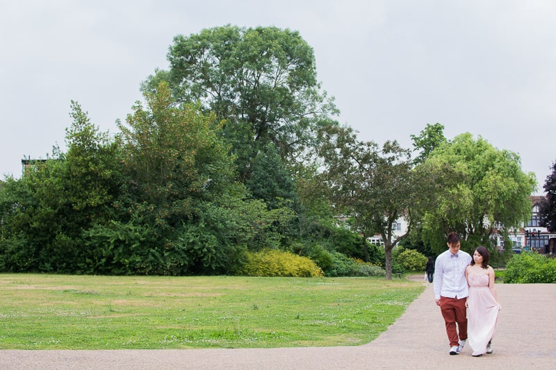 Cute Quirky Engagement Shoot Valentines Park-55