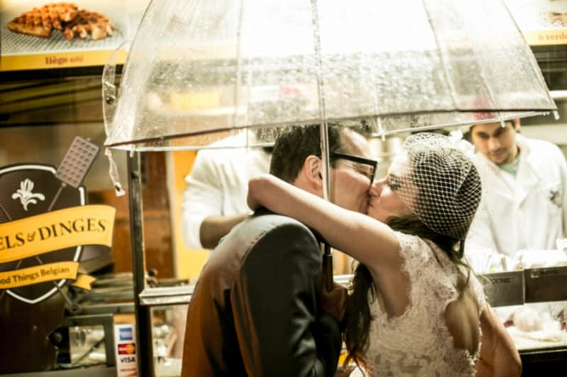 A Quirky NYC Bookstore Wedding