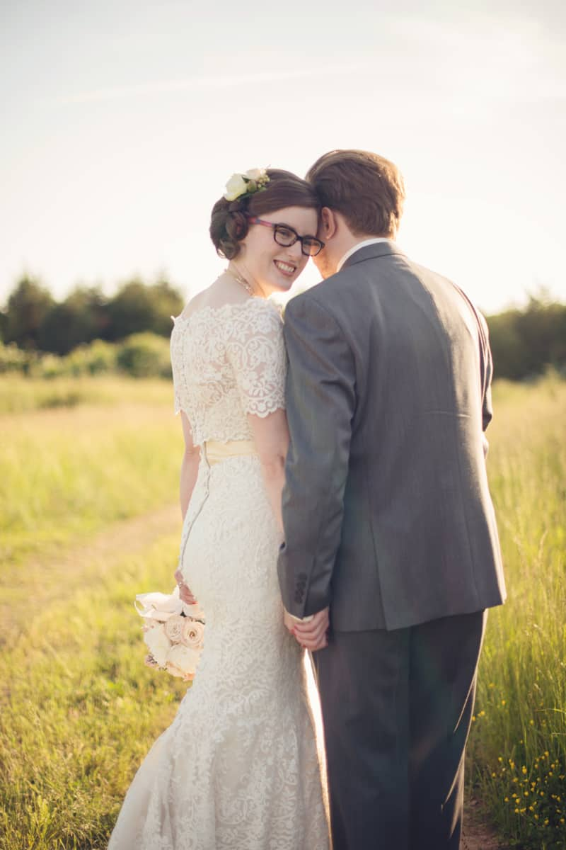 A Fun & Quirky Farm Wedding